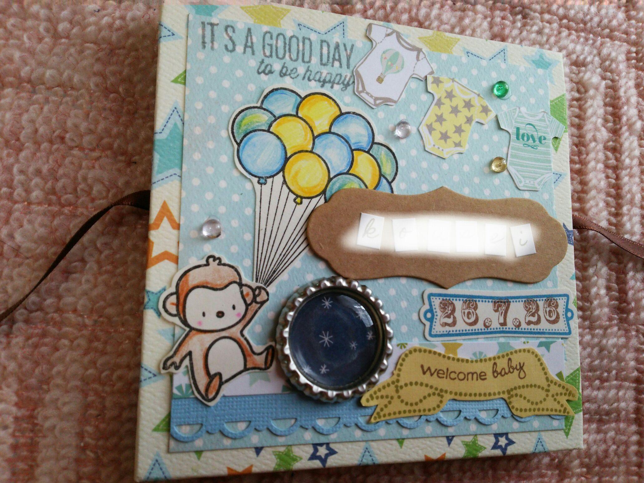 出産祝いミニbook